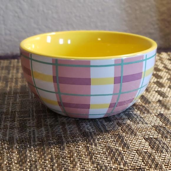 Threshold Stoneware Bowl Blue /& White Dots